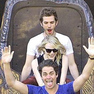 "Andrew Garfield Describes Being High With Emma Stone and Friends at Disneyland: ""It Was Literally Heaven"""